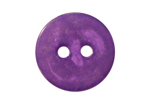Knopf 25mm - dunkel-lila-transparent mamoriert