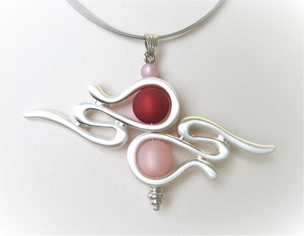 Kreativ-Wechselschmuck-Anhänger - Epsilon - rubin-rosy