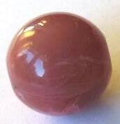 Marmor-Effekt Perle -8mm - pflaume