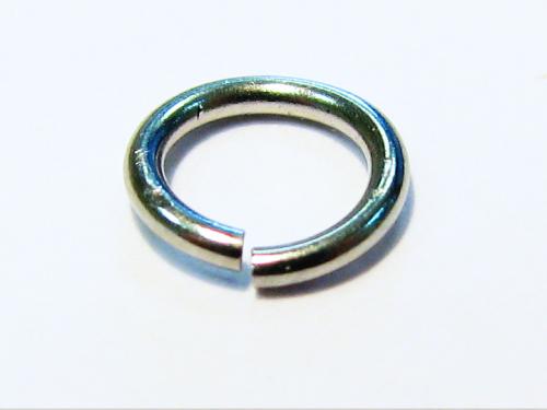 Bindering / Öse - Edelstahl - 5x0,7mm - 1 Stück offen