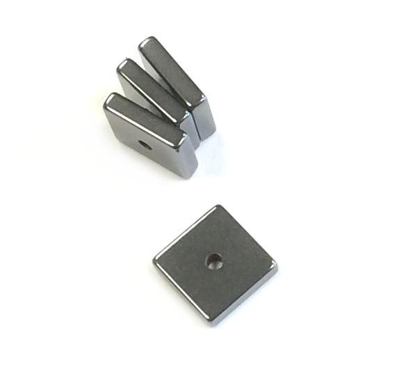Hämatit Spacer 8x8x2,5mm - hämatit glanz - 1 Stück