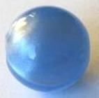 Marmor-Perlmutt-Effekt Perle 14mm - lightblue