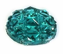 Cabochon starlight smaragd - 10mm