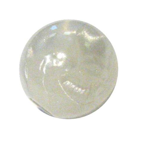 Marmor-Perlmutt-Effekt Perle -8mm - weiß