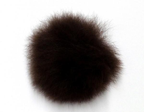 Fellpuschel - Fellball ca. 50mm - braun